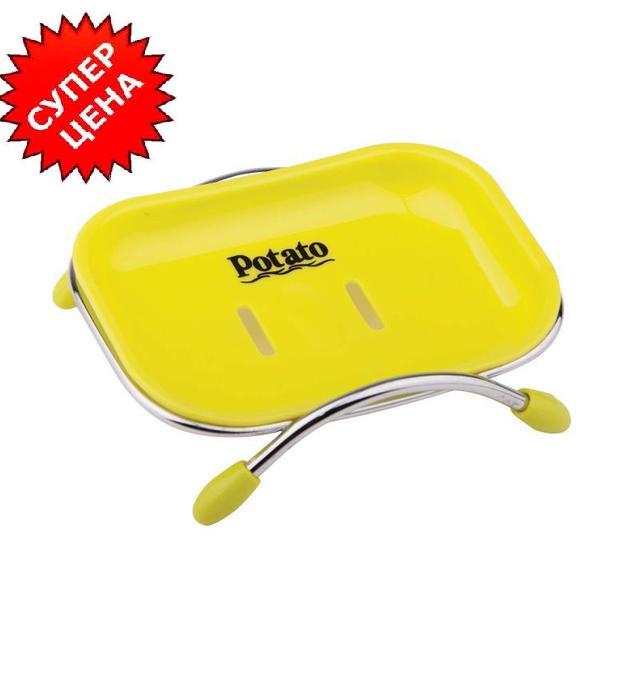 Мыльница Potato P201-1 пластик