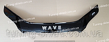 Дефлектор на капот Pontiac Wave/G3 (Hb) (2008-) (Понтиак Вэйф)