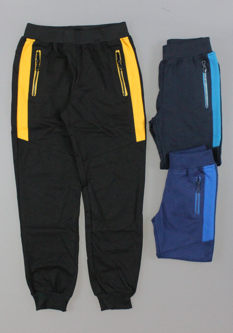 Спортивные брюки для мальчиков F&D оптом, 4-12 лет. {есть:4 года}
