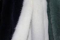 Опушка из песца двойная (70 см) белая
