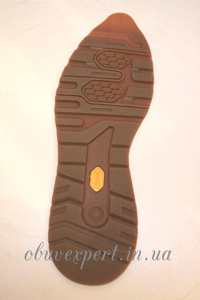 Резиновая подошва/след для обуви BISSELL, арт. BL-23, р 42-43 цв. карамель