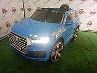 Детский электромобиль джип AUDI Q7, JJ 2188 синий лак