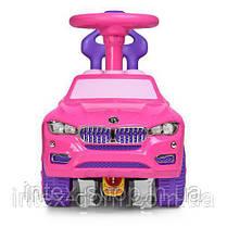 Каталка-толокар Bambi BMW 7661-8 Розовый, фото 3