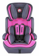 Автокресло детское LIONELO LEVI 9-36 kg (розовое), фото 1