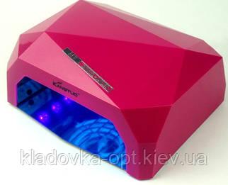 Гибридная лампа Nail Lamp Diamond  LED/CCFL 36W