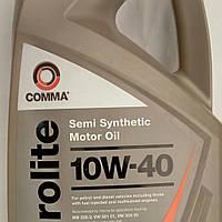 Моторное полусинтетическое масло для дизельных и бензиновых двигателей Comma Eurolite 10w40 5l