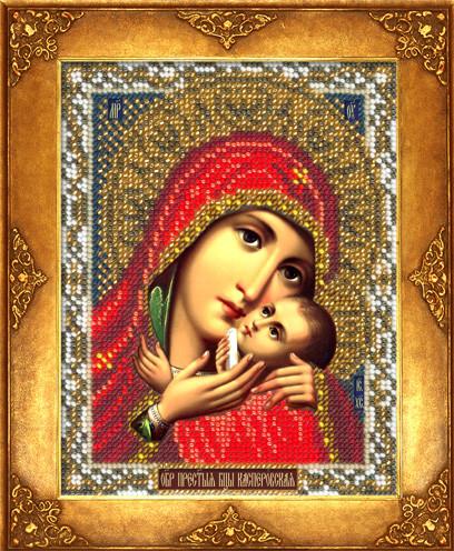 Набор для вышивки бисером Русская искусница 213 «Богородица Касперовская»