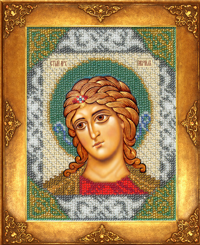 Набор для вышивки бисером Русская искусница 215 «Святой Гавриил»