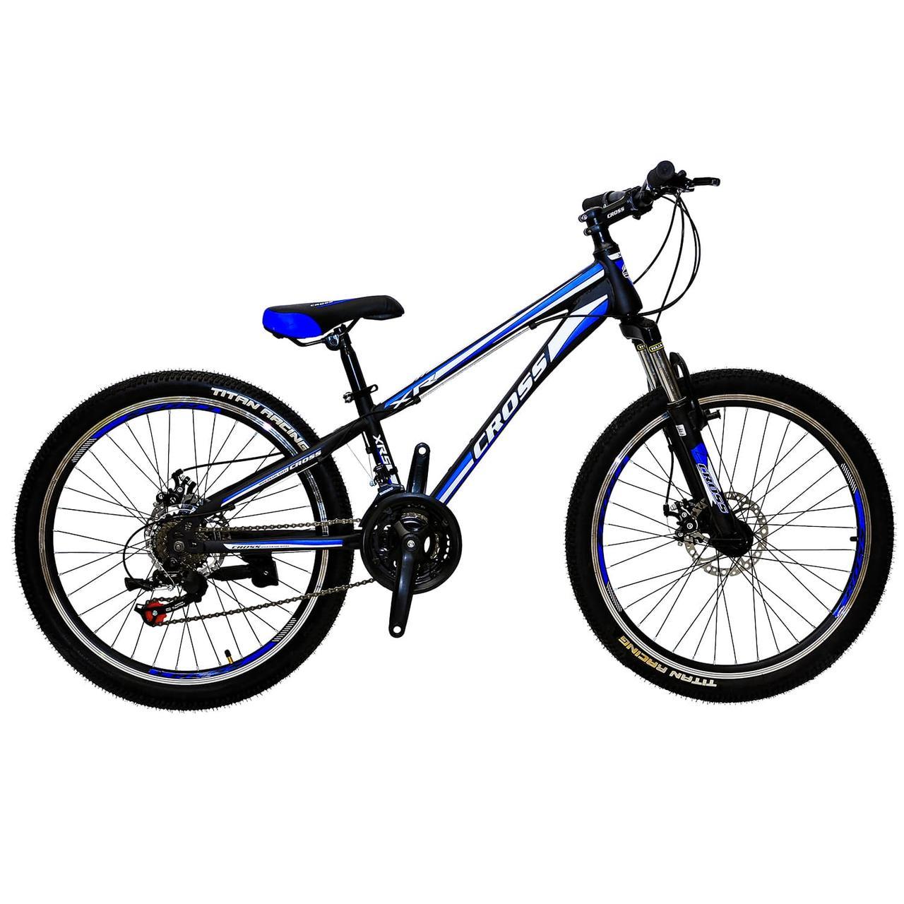 """Подростковый горный велосипед 24"""" Cross Racer"""