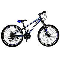 """Подростковый горный велосипед 24"""" Cross Racer, фото 1"""