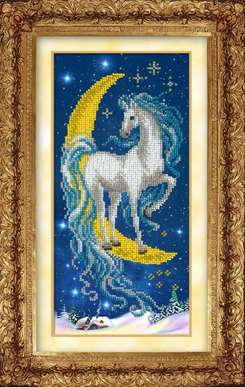 Набор для вышивки бисером Русская искусница 607 «Волшебная лошадка»