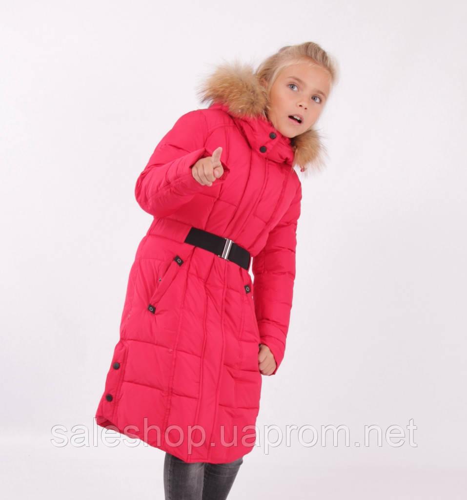 0e1a06d301f Зимнее пальто для девочки Snow Image 707S