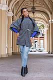 Пальто на підкладці в розмірах 42-46 46-50 50-54, фото 3