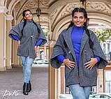 Пальто на підкладці в розмірах 42-46 46-50 50-54, фото 4
