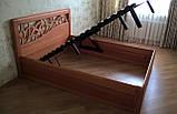 Деревянная кровать Италия, фото 8
