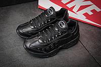 Кроссовки женские  Nike AirMax 95, черные (11462),  [  36 (последняя пара)  ], фото 1