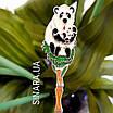 Детская серебряная ложка Панда и малыш, фото 5