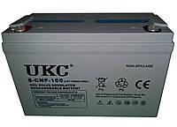 Гелиевый аккумулятор UKC Battery Gel 12V 100A MM