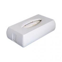 687W Держатель косметических салфеток пластик белый