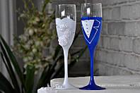 Набор свадебных бокалов для шампанского Rona Gala 200 мл х 2 шт (1407)