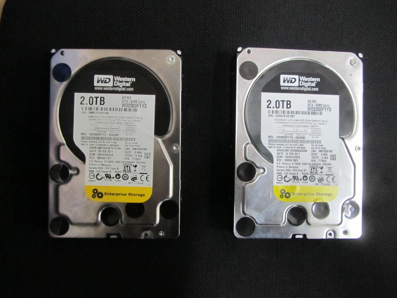 Жесткий диск WD RE4 2TB black 7200rpm 64MB 3.5 SATA II