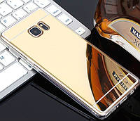 Зеркальный силиконовый чехол для Samsung Galaxy S6