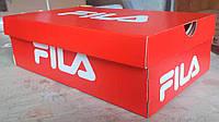 Коробка Fila лакированная красного цвета , фото 1