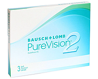 Контактные линзы 30 дней не снимая Pure Vision 2 HD