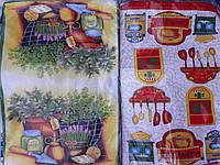 Полотенце Кухонные микрофибра (в ассортименте) 45/65 см 12 шт в уп.