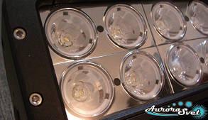 LED балка160 Ватт двухряднаянезаменимый вариант дополнительного освещения в ночное время.