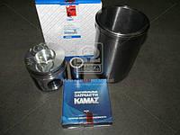Гильзо-комплект КАМАЗ 740 с низким поршнем (ГП+Кольца+Палец) П/К (покупн. КамАЗ), 740.1000128-09