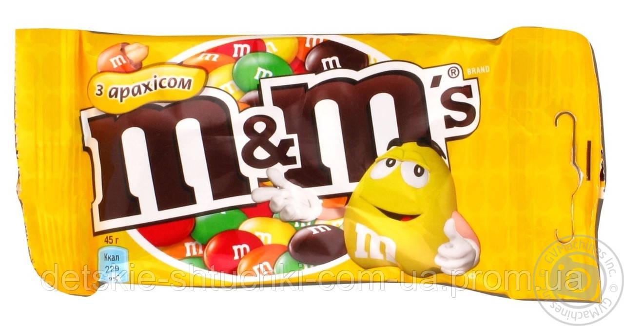 Драже M&M`s с арахисом 45грамм