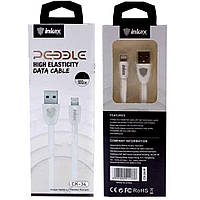 Кабель INKAX  CK-34 USB  - Iphone 5/6/7 Lightning 2.1A 1m