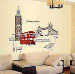 Самоклеющаяся  наклейка  на стену Лондон (140х80см), фото 3