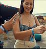 Тканые браслеты, ширина 1,5 см с полноцветной печатью, фото 3