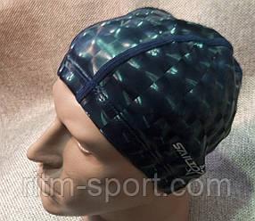 Шапочка для плавания из непромокаемой ткани (верхний слой 3D эффект)