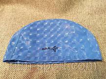 Шапочка для плавания из непромокаемой ткани (верхний слой 3D эффект), фото 3