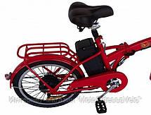 Электровелосипед складной Volta Ion 350w 36v, фото 2