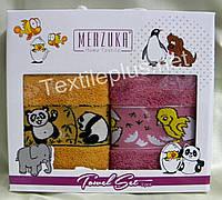 Полотенца махровые кухонные - Merzuka - Kinder - 2 шт. - 40*60 - 100% хлопок - Турция - (kod1499)