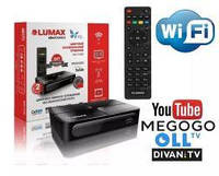 Т2 Тюнер Lumax DV2118HD + WI-FI эфирная цифровая приставка, фото 1