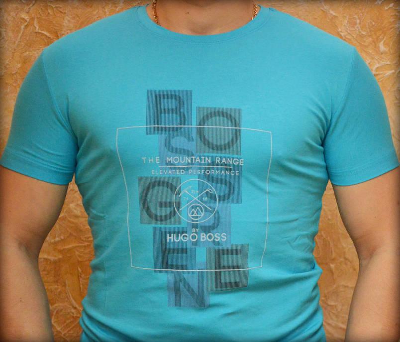 Мужская футболка BOSS (Реплика), фото 2