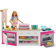 Игровой набор Барби Мега кухня Готовим вместе