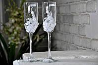 Набор свадебных бокалов для шампанского Rona Gala 200 мл х 2 шт (1106)