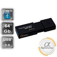 USB Flash 64GB KINGSTON DataTraveler 100 Generation 3 USB3.0 (DT100G3/64GB) Black