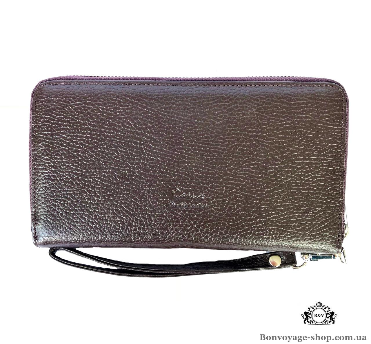 736eaeb9ac51 Мужской клатч кожаный Karya 0706-39 коричневый - купить по лучшей ...