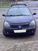 Дефлектор на капота Renault Clio Symbol (2001-2008) (Рено Клио)