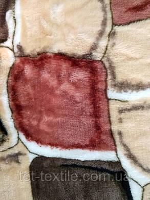 """Плед из микрофибры """"Камушки"""" (200х220), фото 2"""