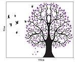 Самоклеющаяся  наклейка  на стену Дерево (110х92см), фото 3