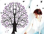 Самоклеющаяся  наклейка  на стену Дерево (110х92см), фото 4