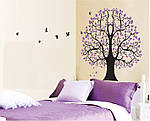 Самоклеющаяся  наклейка  на стену Дерево (110х92см), фото 6